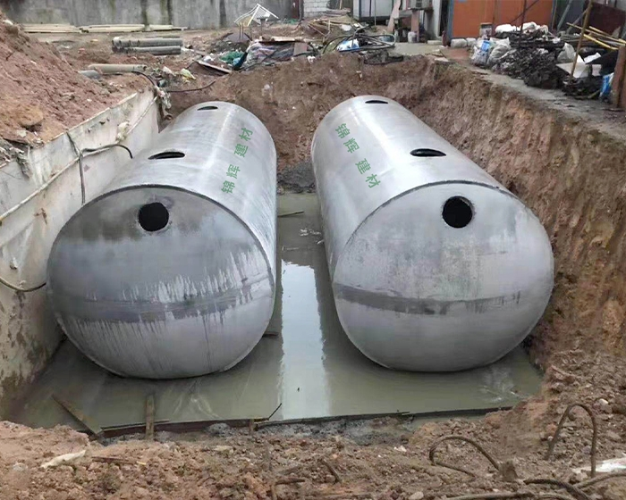 商砼整体式化粪池是利用沉淀和厌氧发酵的原理。